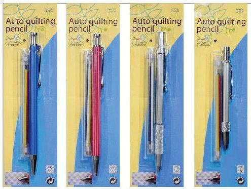 עיפרון סימון עם מילוי בצבעים כחול לבן אדום צהוב
